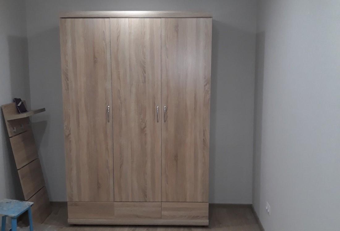 Полная переделка однокомнатной хрущевки в простую современную квартиру за $8000