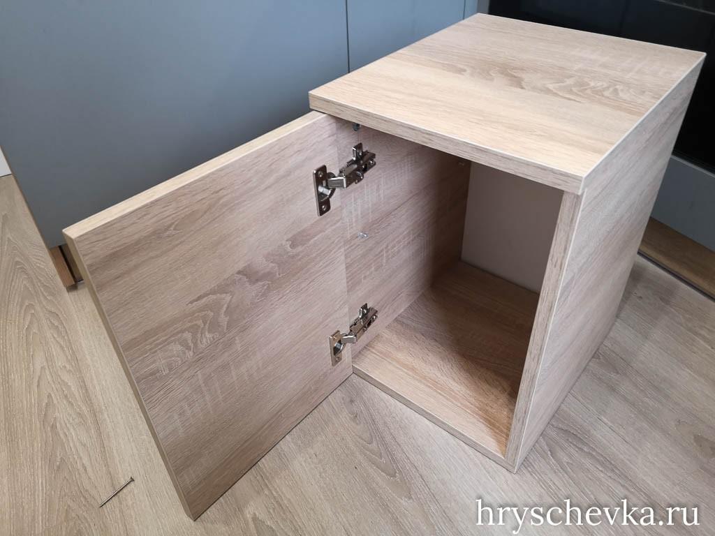 Как установить мебельные петли своими руками - пошаговая инструкция с фото