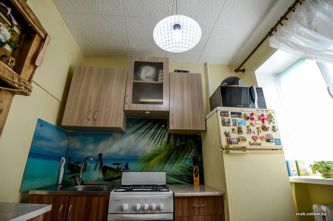 Стильный ремонт однокомнатной хрущевки 28 кв.м для молодой семьи за 4000 долларов