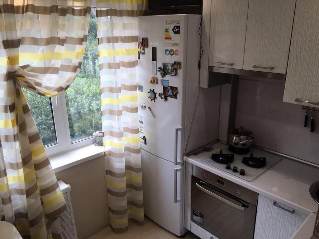 Шторы на кухню в хрущевку - 27 реальных фотопримеров