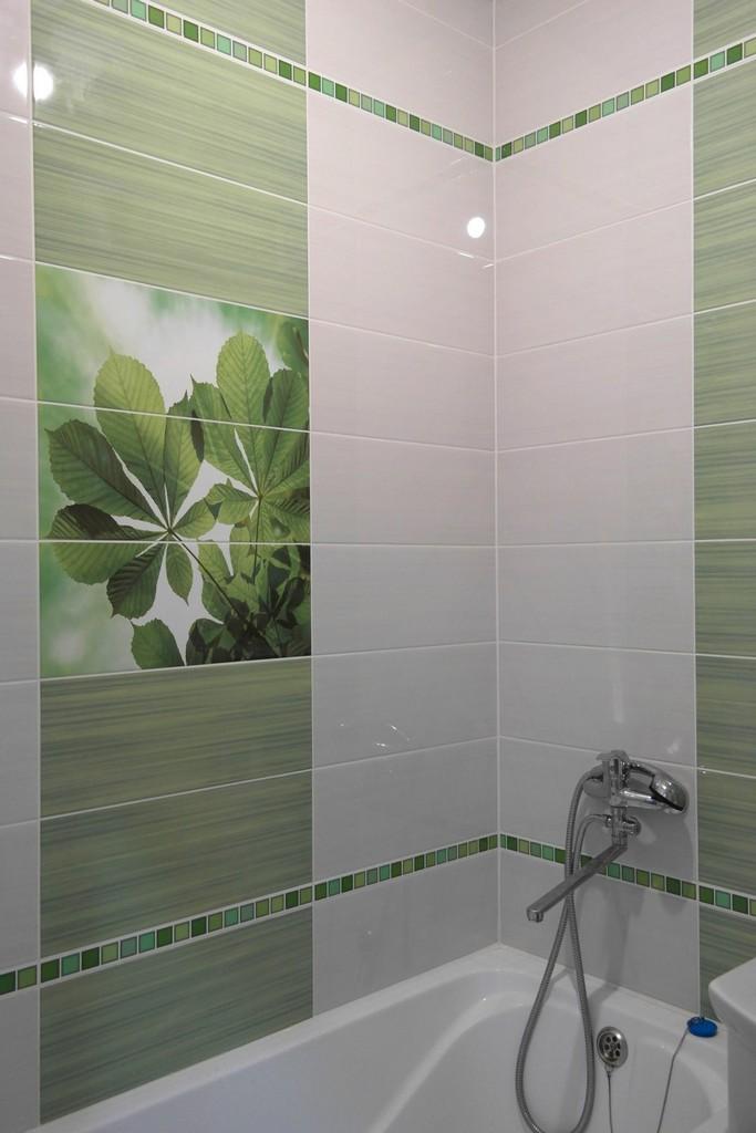 Ванная комната в хрущевке в зеленых тонах - 23 реальных фото