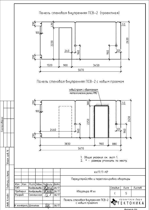 Как изолировать проходную комнату в двухкомнатной хрущевке? Проект перепланировки
