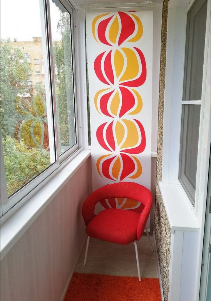Балконы в хрущевке с интересной отделкой: 37 идей с фото