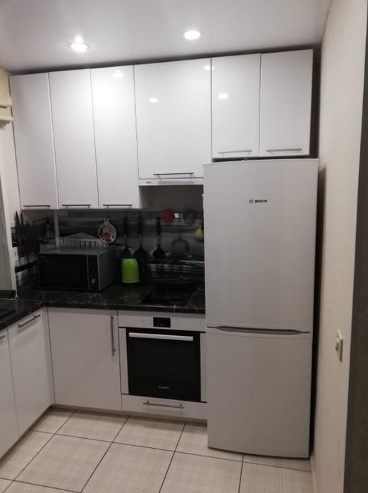 Кухня 5 кв.м. в хрущевке: реальные фото с идеями дизайна и планировки