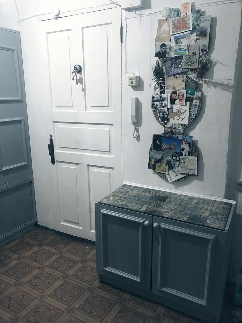 Что будет, если покрасить старый советский шкаф? Результат до и после
